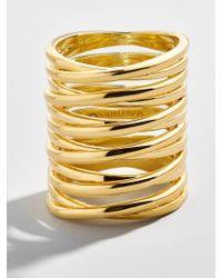 BaubleBar - Metallic Sullivan Statement Ring - Lyst