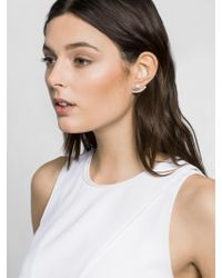 BaubleBar - Metallic Howlite Arc Ear Jackets - Lyst