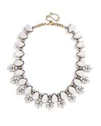 BaubleBar - Metallic Crystal Wreath Collar - Lyst