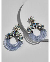 BaubleBar - Multicolor Polar Hoop Earrings-blue - Lyst