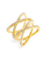 BaubleBar | Metallic Gamma Ring | Lyst
