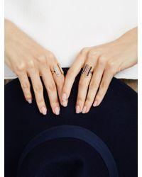 BaubleBar Black Molly Ring