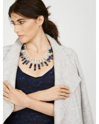 BaubleBar | Metallic Mosaic Collar | Lyst