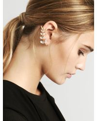 BaubleBar - Metallic Aster Ear Crawlers - Lyst