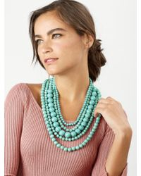 BaubleBar - Blue Bold Beaded Strands - Lyst