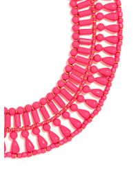 BaubleBar   Pink Riviera Collar Necklace   Lyst