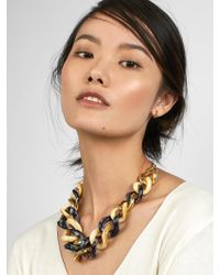 BaubleBar - Multicolor Fabia Linked Statement Necklace - Lyst