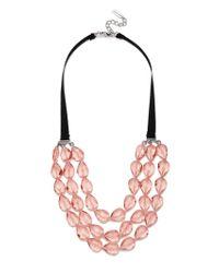 BaubleBar | Pink Stassi Collar | Lyst