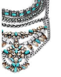 BaubleBar | Blue Morgause Warrior Bib | Lyst