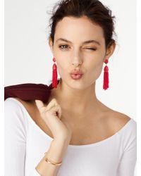 BaubleBar   Red 'pinata' Tassel Earrings   Lyst