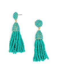 BaubleBar - Multicolor Mini Piñata Tassel Earrings - Lyst