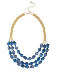 BaubleBar | Blue Kerri Collar | Lyst