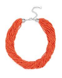 BaubleBar - Multicolor Myra Beaded Collar - Lyst