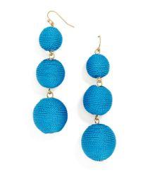 BaubleBar - Multicolor Vivid Crispin Ball Drop Earrings - Lyst