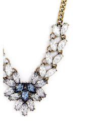 BaubleBar | Blue Antoinette Crystal Bib | Lyst
