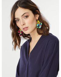 BaubleBar | Blue Caicos Pom Pom Earrings | Lyst