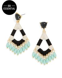 BaubleBar | Multicolor Aquarius Drop Earrings | Lyst