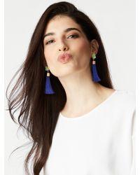 BaubleBar - Pink Hebe Tassel Earrings - Lyst