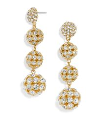 BaubleBar | Multicolor Disco Crispin Ball Drop Earrings | Lyst