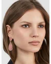 BaubleBar | Multicolor Moonlight Druzy Drop Earrings | Lyst