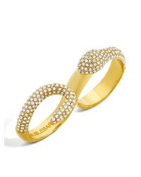 BaubleBar - Metallic Vipress Snake Ring - Lyst