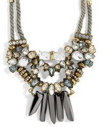 BaubleBar - Multicolor Imelda Statement Necklace - Lyst