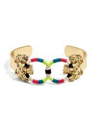 BaubleBar | Multicolor Sarabi Lion Head Bracelet | Lyst