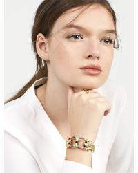 BaubleBar - Multicolor Sarabi Lion Head Bracelet - Lyst