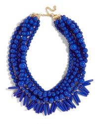 BaubleBar | Blue Malibu Statement Necklace | Lyst