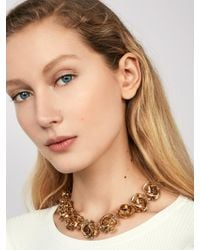 BaubleBar - Multicolor Buttercup Flower Statement Necklace - Lyst