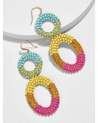 BaubleBar - Multicolor Kellie Hoop Earrings - Lyst