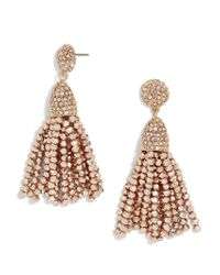 BaubleBar - Mini Metallic Piñata Tassel Earrings - Lyst