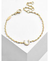 BaubleBar - Multicolor Fortuna 18k Gold Plated Bracelet - Lyst