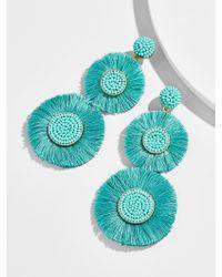 BaubleBar - Blue Mariette Fringe Drop Earrings - Lyst
