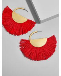BaubleBar - Red Bonita Drop Earrings - Lyst