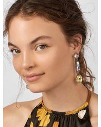 BaubleBar - Multicolor Cassandria Drop Earrings - Lyst