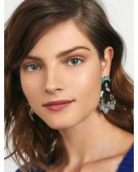 BaubleBar | Multicolor Snowflower Drop Earrings | Lyst