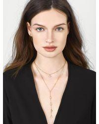 BaubleBar - Metallic Dewdrop Layered Necklace - Lyst