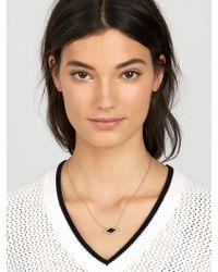 BaubleBar - Gray Celestina Pendant Necklace - Lyst