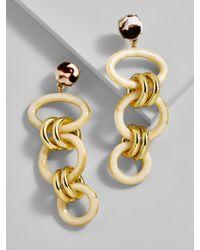 BaubleBar - Multicolor Fabella Linked Drop Earrings - Lyst