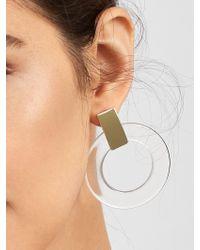 BaubleBar - Multicolor Marisela Resin Hoop Earrings - Lyst