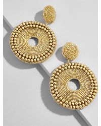 BaubleBar - Metallic Ora Hoop Earrings - Lyst