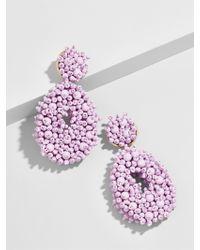 BaubleBar - Purple Melayna Drop Earrings - Lyst