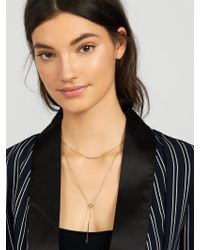 BaubleBar - Multicolor Lunaria Layered Necklace - Lyst