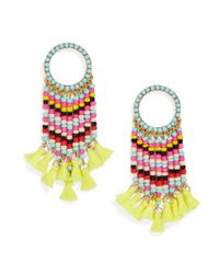 BaubleBar - Multicolor Zavrina Tassel Earrings - Lyst
