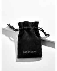 BaubleBar - Multicolor Mezzo Everyday Fine Huggie Hoop Earrings - Lyst