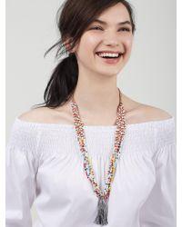 BaubleBar - Metallic Chloe Statement Necklace - Lyst