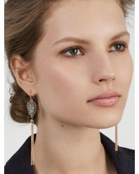BaubleBar   Gray Starfire Druzy Tassel Earrings   Lyst