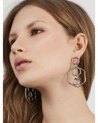 BaubleBar | Metallic Stephania Hoop Earrings | Lyst
