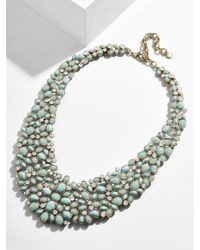 BaubleBar - Blue 'kew' Crystal Collar Necklace - Lyst